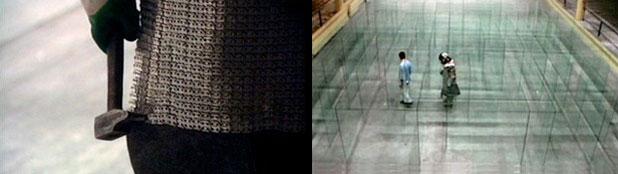 Labyrinthe de verre brisé